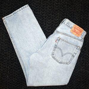 Vintage Levi's red tab 505 jeans